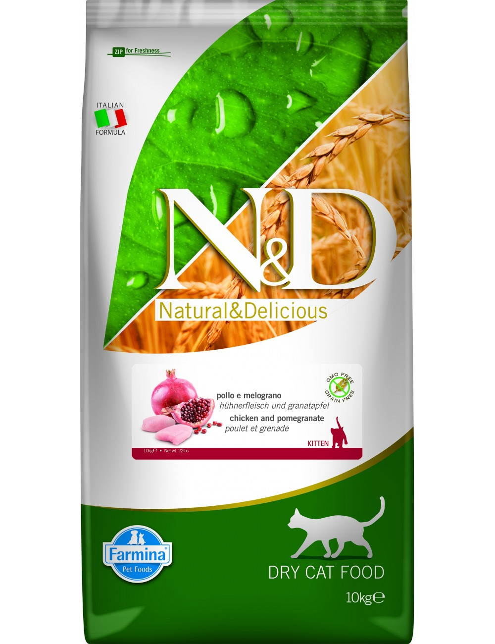 Team Breeder N&D Gatitos 10kg