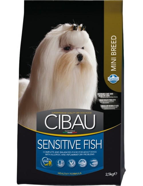 Cibau Sensitive Pescado Razas Mini