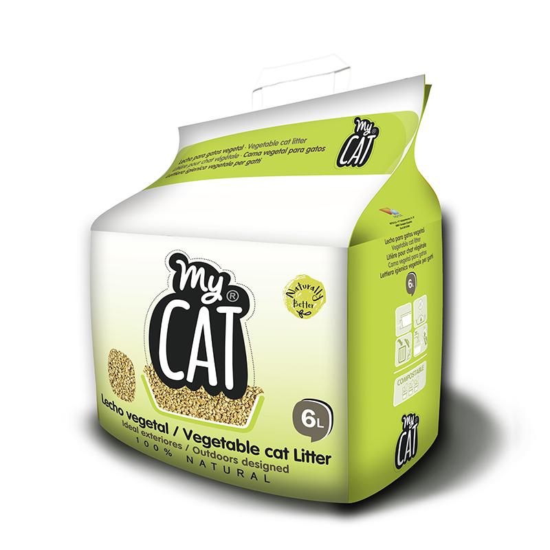 Lecho Vegetal para gatos